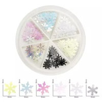Snow Flake Decoration in wheel