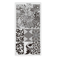 Stamping Plate - 12 x 6 - #12