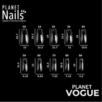Planet Vogue - Coffin - Medium Replacement Tips # 5